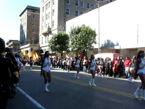UAPB BAND @ UAPB HOMECOMING PARADE 2009