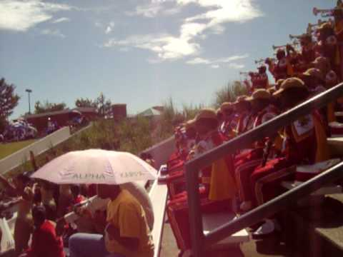 """Workin Day and Night""- Tuskegee University Marching Band 2009"