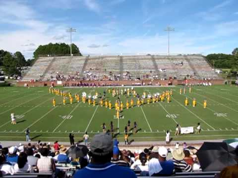 Fort Valley State University Blue Machine Marching Band