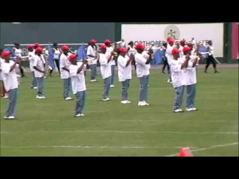 Delaware State University Marching Band Part 1