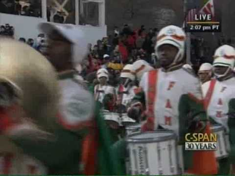 FAMU performs for the President