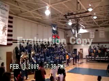 Carroll Pep Band Nobody Does it Better 09