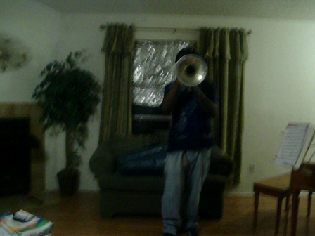 mello weedy he's a pirate f-horn solo