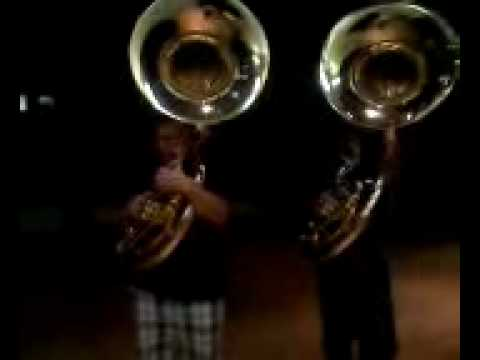 NRHS Tuba Player And French Horn Player On Tuba 2