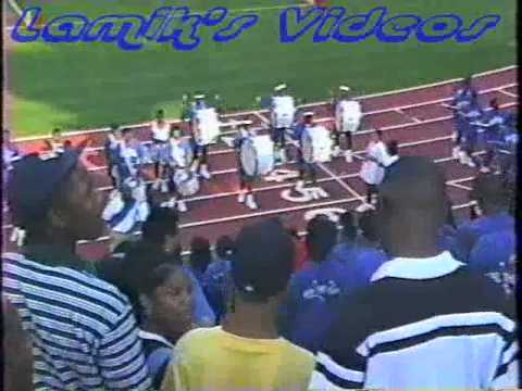 Stephenson H.S. Marching in 1st Game 1996