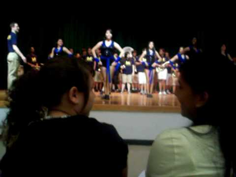 """Milby High At Edison Middle School. Playing """" Rep Yo' City"""""""