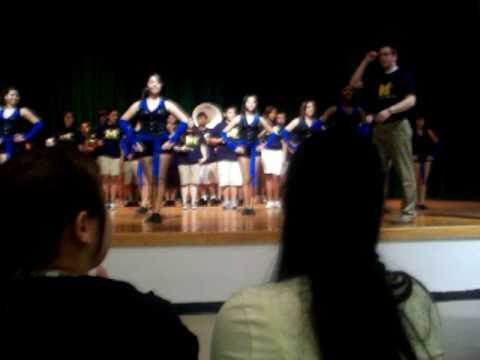"""Milby High At Edison Middle School. Playing """"All I do"""""""