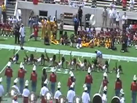 Delaware State Halftime Show; Meac Vs SWAC 2010