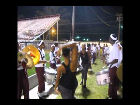 JACK ROBEY JR HIGH MARCHING OUT GAME 2010