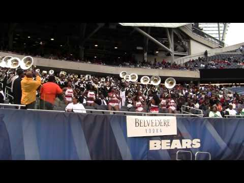 "MVSU Marching Band ""War"" 2010 in HD"