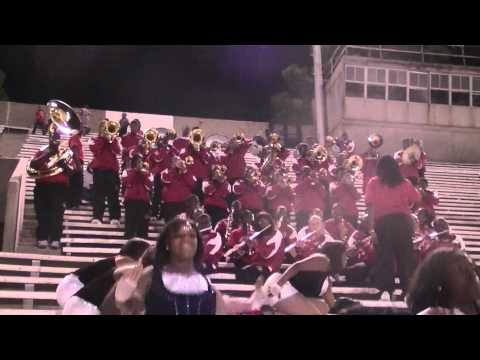 """Donaldsonville High Marching Band """"All I Do Is Win"""" 2010"""