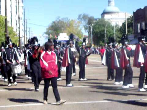 Minden High School at Jackson State University Homecoming Parade 2010