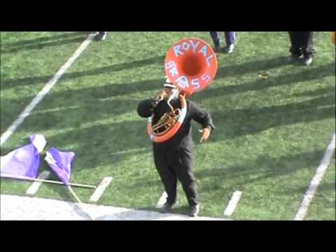 """Camden High School Marching Panthers - """"Usher"""" Show part 2"""