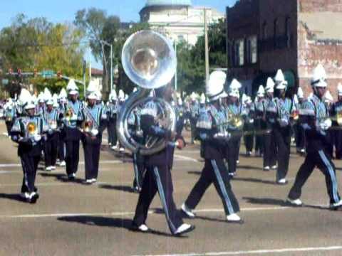 Jackson State University Sonic Boom at Homecoming Parade 2010
