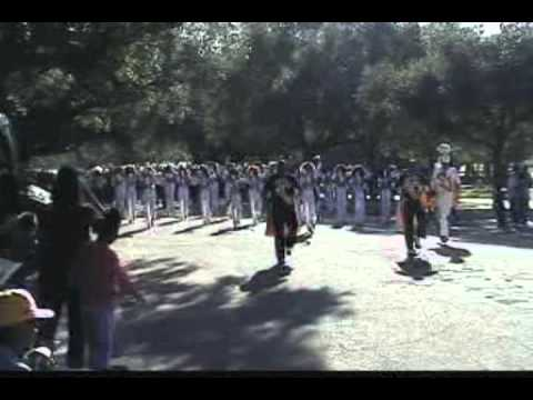 """Prairie View A&M University """"Marching Storm"""" Homecoming Parade 2010"""