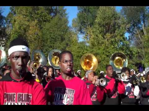 UAPB HOMECOMING PARADE BAND BATTLE 2010