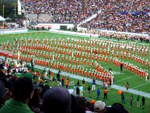 """2010 Florida Classic Concert Selection """"Cause I Love You"""": FAMU Marching 100"""