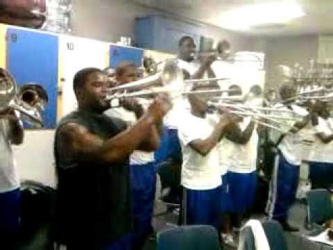 Albany State Trumpets vs Trombones, with a lil Tuba