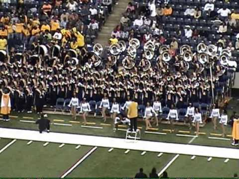 NCAT Marching Band Luther Vandross Medley
