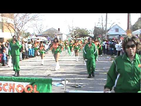 "LHS Mighty Marching Rattlers 2011 Mardi Gras - ""Get Ready"""