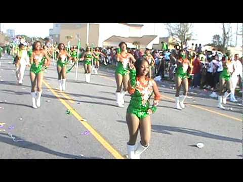 "LHS Mighty Marching Rattlers 2011 Mardi Gras - ""RATTLER Cadence"""
