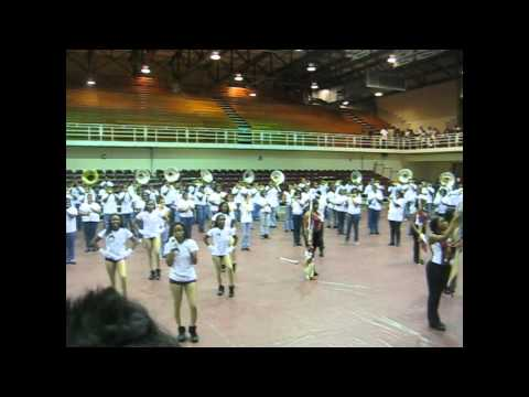 AAMU Band - Louis Crews Classic Pep Rally