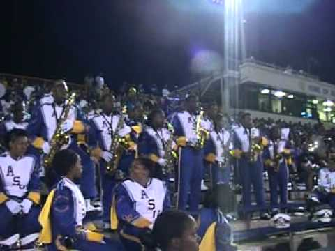 Albany State MRSB Sax section:Sweet Love 2010