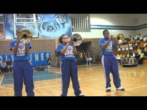 Mellophone Battle (Pine Forest vs. Westover)