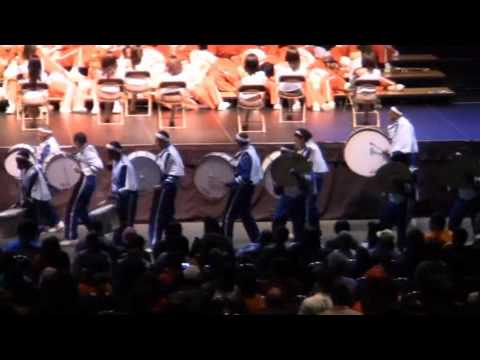 "Proviso East ""Hittsquad"" Percussion line 2011"