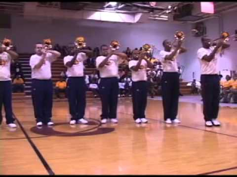 "Brass Thunda of VSU ""Mary Jane"" Fanfare 2011"