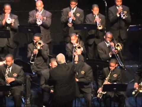 "St. Aug Jazz Ensemble Playing ""Birdland"" @ Band Concert  2011"