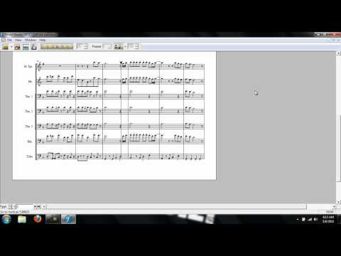 Off The Wall - Band Sheet Music