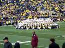 Michigan marching band, the cake formation