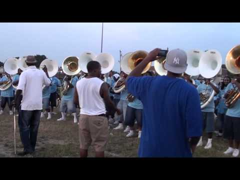 THE ALL STARS OF MEMPHIS MASS BAND TUBA SECTION #2 2011