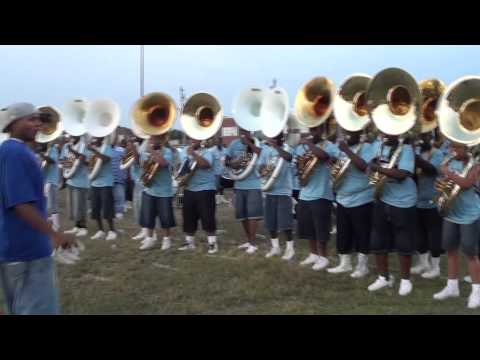 THE ALL STARS OF MEMPHIS MASS BAND TUBA SECTION #1 2011