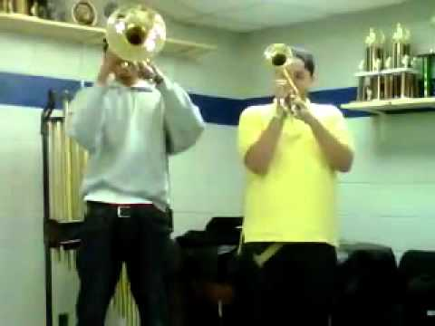 "NCAT Mello and NSU Trumpet ""Funeral Fanfare"""
