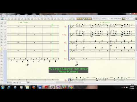 Vice Versa By Pastory Troy Arranged By Kymarte Jackson For Brass Band or Marching Band Sheet Music