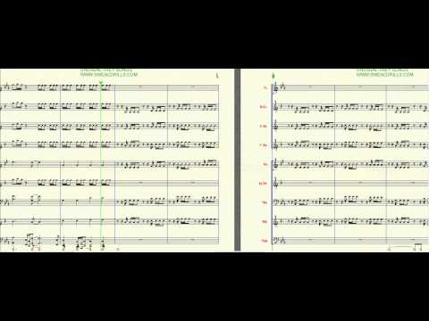 """Unusual"" Trey Songs-Arranged By: Brandon G. Mitchell For Marching/Concert Band"