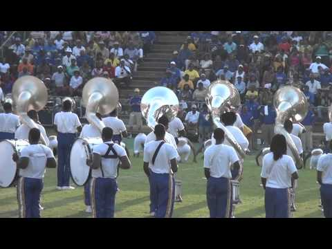 Albany State University 2011 Music City Classic Halftime Show (BACK VIEW)