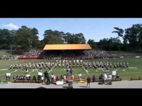 Stillman College Marching Band @ Tuskegee University 2011 - Field Show