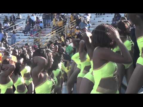 "(MAKE IT LAST FOREVER) NCAT Homecoming 5th Quarter- ""Blue and Gold Marching Machine"" 2011"