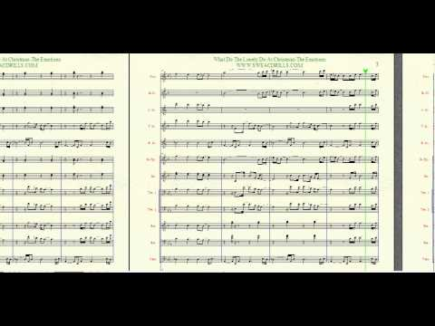 """""""What Do The Lonely Do At Christmas"""" Arranged By: Brandon G. Mitchell For Marching/Concert Band"""