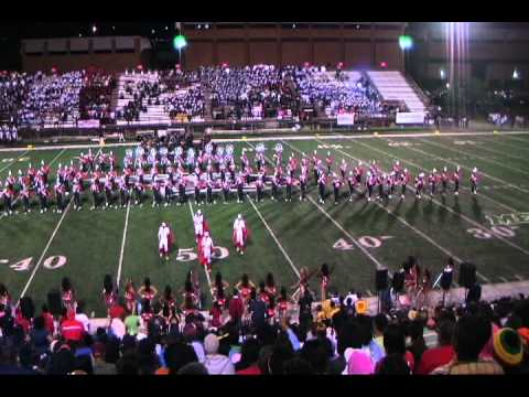 WSSU Band at Adrian Carroll Battle of the Bands.