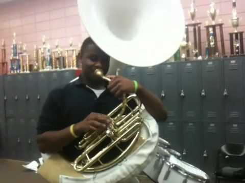 "Jack Robey 9th Grade TUBA ""This Way"" 2010"