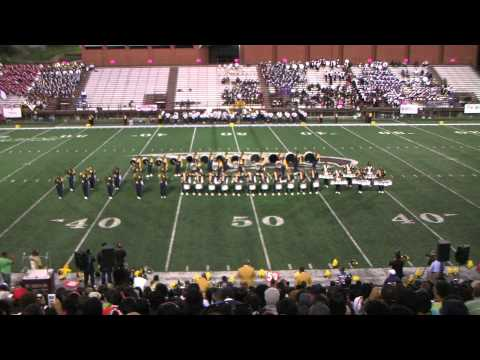 """NCA&T """"Cold Steel"""" at Adrian Carroll Battle of  the Bands 2011"""