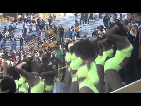 "NCAT Homecoming 5th Quarter- ""Blue and Gold Marching Machine"" 2011"