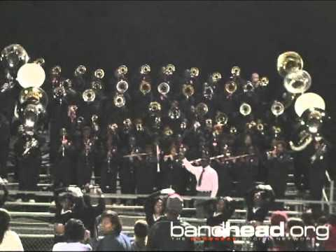 """Baker H.S. Playing """"400 Degrezz"""" After The Lutcher BOTB 2011"""