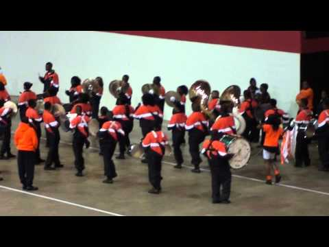Fairley High Marching In MidSouth BOTB 2011