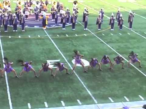 CAMDEN HIGH PANTHERS BAND IN DC 10.22.11