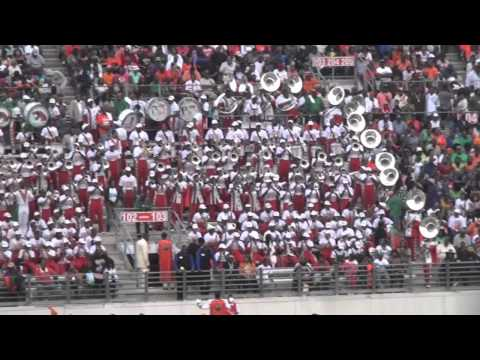 "FAMU's ""Marching 100"" @ 2011 Florida Classic Game- ""Cause I Love You"""